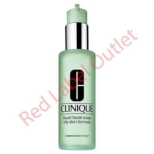 Clinique Liquid Facial Soap Oily Skin Formula 6.7 ounce (Best Face Wash For Very Oily Skin)