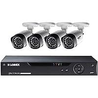 Lorex 8-Channel 4 Bullet Cameras w/ 1TB 1080p HD HDD DVR Security System