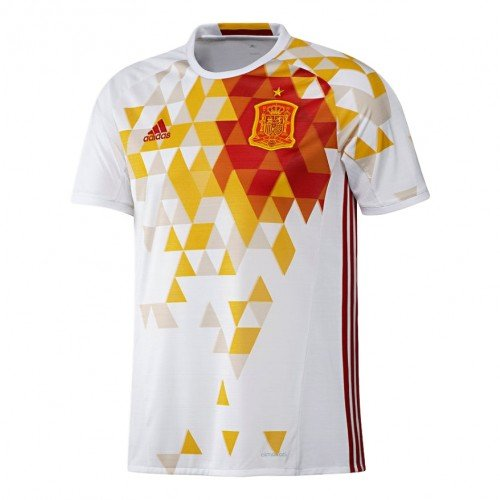 Adidas Spain Away Jersey (Adidas Youth 2016 Euro Cup Spain Away Jersey X-Large)