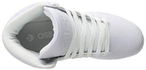 Osiris Mens Cthi Skate Schoen Wit / Wit