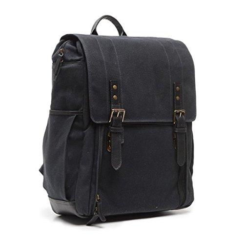 (ONA Canvas Camps Bay Backpack (Black))