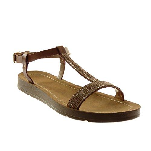 Cm Kameel Angkorly Sandalen Vrouw Fashion Schoenen Enkelbandje Strass String Platform 2 zvawzq