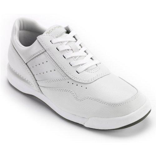 Rockport Men's M7100 Pro Walker Walking Shoe-White-10.5 W (Rockport Mens Prowalker Shoe)