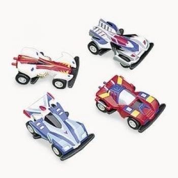 Pull Back Race Cars Dozen