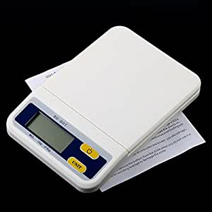 2Kg x 0.1g Multifunction Digital Electronic Diet Food Compact Kitchen Scale Weighing Scales