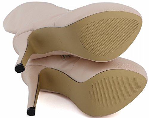 Pantofole Stivaletto Cfp Donna A Nude ZOTqz4