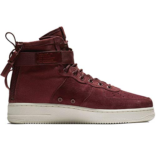 NIKE Herren Men's Sf Air Force 1 Mid Shoe Gymnastikschuhe Mehrfarbig (Pueblo Brown/Pueblo Brown/Dark Russet 202)