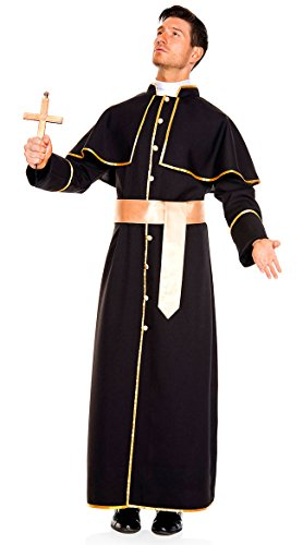 Deluxe Priest Adult Costume -
