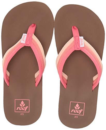 Reef Girls AHI Beach Sandal raspberry 2-3 Little Kid ()