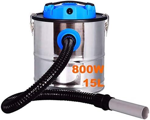 REGU-LED Aspirador de Cenizas 800W 15L Acero Inoxidable, Aspirador ...