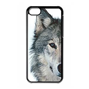 Mysterious Wolf logo for iPhone 5C hard back case