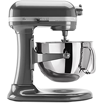 KitchenAid KP26M1XPM 6 Qt. Professional 600 Series Bowl Lift Stand Mixer    Pearl Metallic