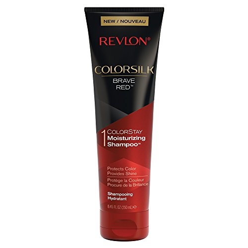 Revlon ColorSilk Care Shampoo, Red, 8.45 Fluid ()