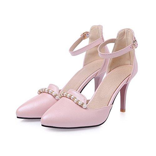 1to9 Dameskraal Dans-ballroom Zacht Materiaal Pumps-schoenen Roze