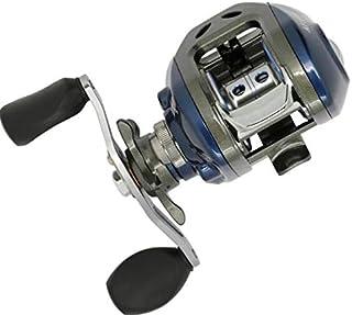 Faironly Moulinet de pêche à 11 Axes pour Gauche/droitier en métal avec roulement à Billes en Eau salée Bleu Eau Douce