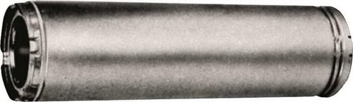 American Metal 6hs-36 Insulated Chimney Pipe, 3 Wall