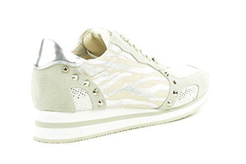 liu jo - Zapatillas para mujer plateado