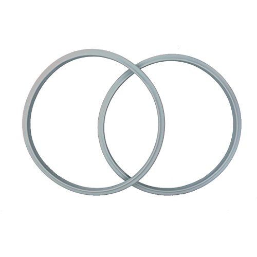 2-pack 22cm(8.7'') Compatible Sealing Ring Gasket for FISSLER Pressure Cooker Vitavit Bluepoint by Puyong