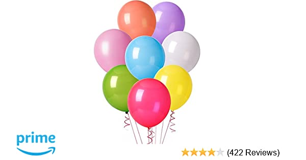 Amazon Com Mesha 12 Inchesorted Color Party Balloons 144 Pcs Toys Games