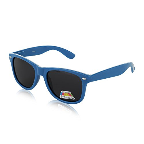 New Polaroid Sunglasses for Boys Plastic Rimmed Royal Light Navy Blue ()