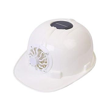 MEI XU - Gorra de Ventilador, Ventilador, ventilación, Solar, con ...