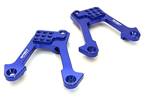 Alloy Shock Tower - Integy RC Model Hop-ups C27130BLUE Billet Machined Alloy Rear Shock Tower for Axial 1/10 SCX10 II