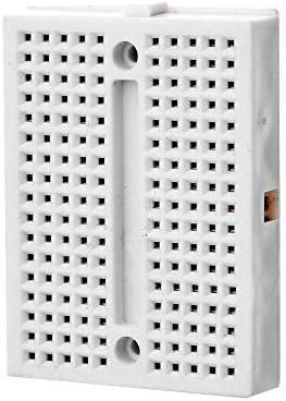 LDTR-PJ016 Mini Prototype Printed Circuit Board Breadboard - Weiß Gaodpz