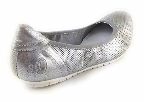 22119 Bailarinas 941 Gris 55 Oliver s 28 mujer para T7qwEqSXW
