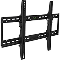 Mount-It! MI-1121L TV Wall Mount Bracket for Flat Screen 37, 40, 42, 45, 50, 55, 60 and 65 Plasma LED LCD TV VESA 200200,400200,400400,600400,800400, Black