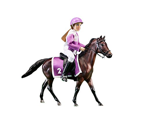 Breyer Race Horse and Jockey - Horse and Doll Set
