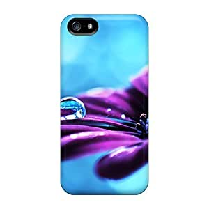 Awesome LovingPOP Defender Tpu Hard Case Cover For Iphone 5/5s- Purple Drops by icecream design