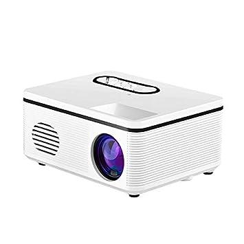 Proyector, mini proyector de video LED portátil con pantalla de ...