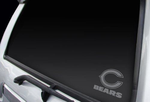 (Chicago Bears Window Graphic)