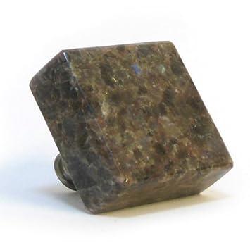 Antik Braun Labrador Quadratisch Kuchenschrank Naturstein Massiv