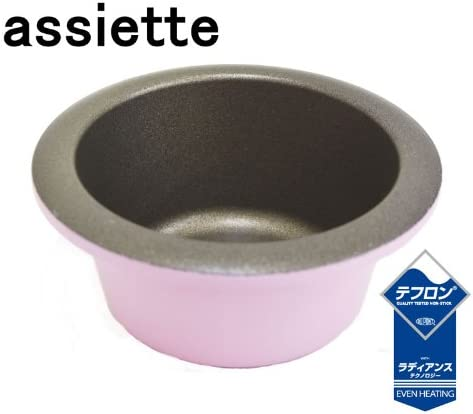 assiette ラムカン ローズピンク