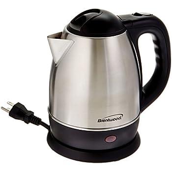 Brentwood 1.2 Liter Stainless Steel Tea Kettle Model KT-1770