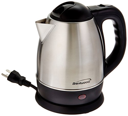 Brentwood 1.2 Liter Stainless Steel Tea Kettle Model - A Brentwood