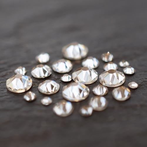 Swarovski Nail Art Gems Size Mix Crystal | Pack of 250 | Small & Wholesale Packs by Swarovski