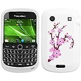 MYBAT BB9930CASKPT001 Pastel Spring Flowers Protective Case for Blackberry Bold 9930 - 1 Pack - Retail Packaging - White