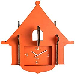 WOLF 333811 Jigsaw Cuckoo Clock, Orange