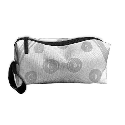 Ladybug Storage Tools Canvas Zipper Multi-function Organization Bag With Handle -