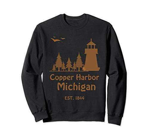 Summer in Copper Harbor Michigan Travel Apparel Sweatshirt