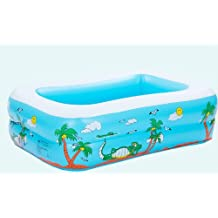 Baby Swimming Pool Child Paddling Pool Infant Baby Transparent Super Large Inflatable Bathtub