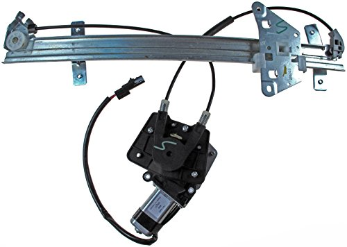Dorman Front Left Window - Dorman 741-649 Front Driver Side Power Window Regulator and Motor Assembly for Select Dodge Models