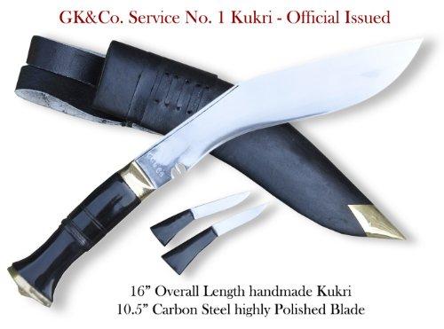 Genuine Gurkha Kukri Knife – British Gurkha Army Issue, Authentic Khukuri or Khukris, Outdoor Stuffs