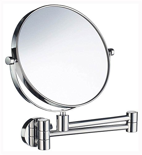 Smedbo Wall Mount Mirror (Shaving and Make-Up Mirror in Polished Chrome Finish)