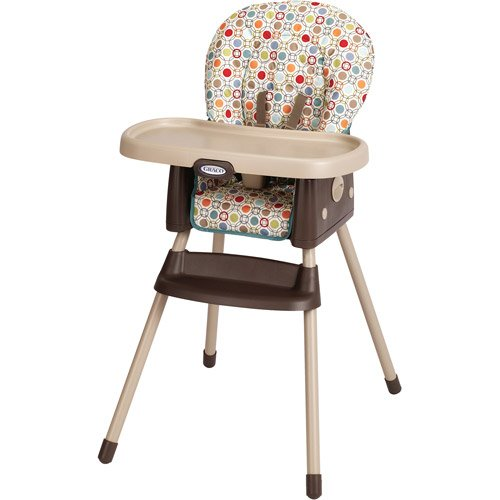 Graco - SimpleSwitch 2-in-1 High Chair and Booste 2in 1 Convertible High Chair