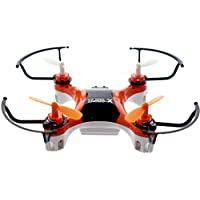 X-Drone Nano 2.0 - Beautiful Design and Durable - Aerial Drone Quadcopter Radio Controlled RC flyer Quad Copter Helicopter - nano micro mini small - Fly it, Love it! - Orange