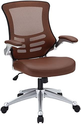 Modway Attainment Mesh Vinyl Modern Office Chair