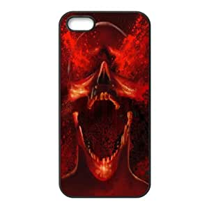 Iphone 5,5S Bloody Phone Back Case Personalized Art Print Design Hard Shell Protection TY110158